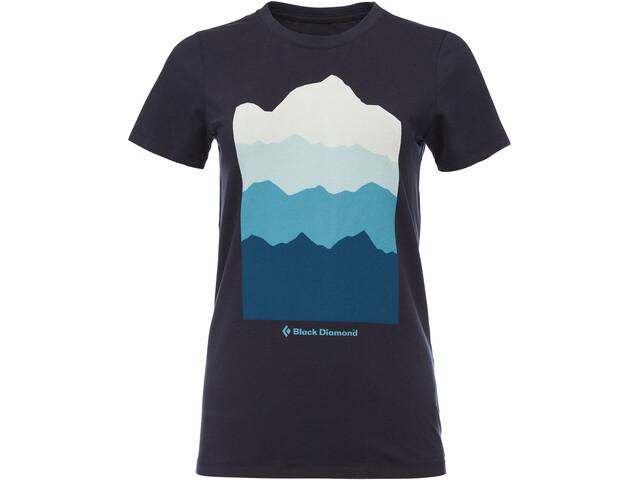 Black Diamond Vista Camiseta Mujer, eclipse